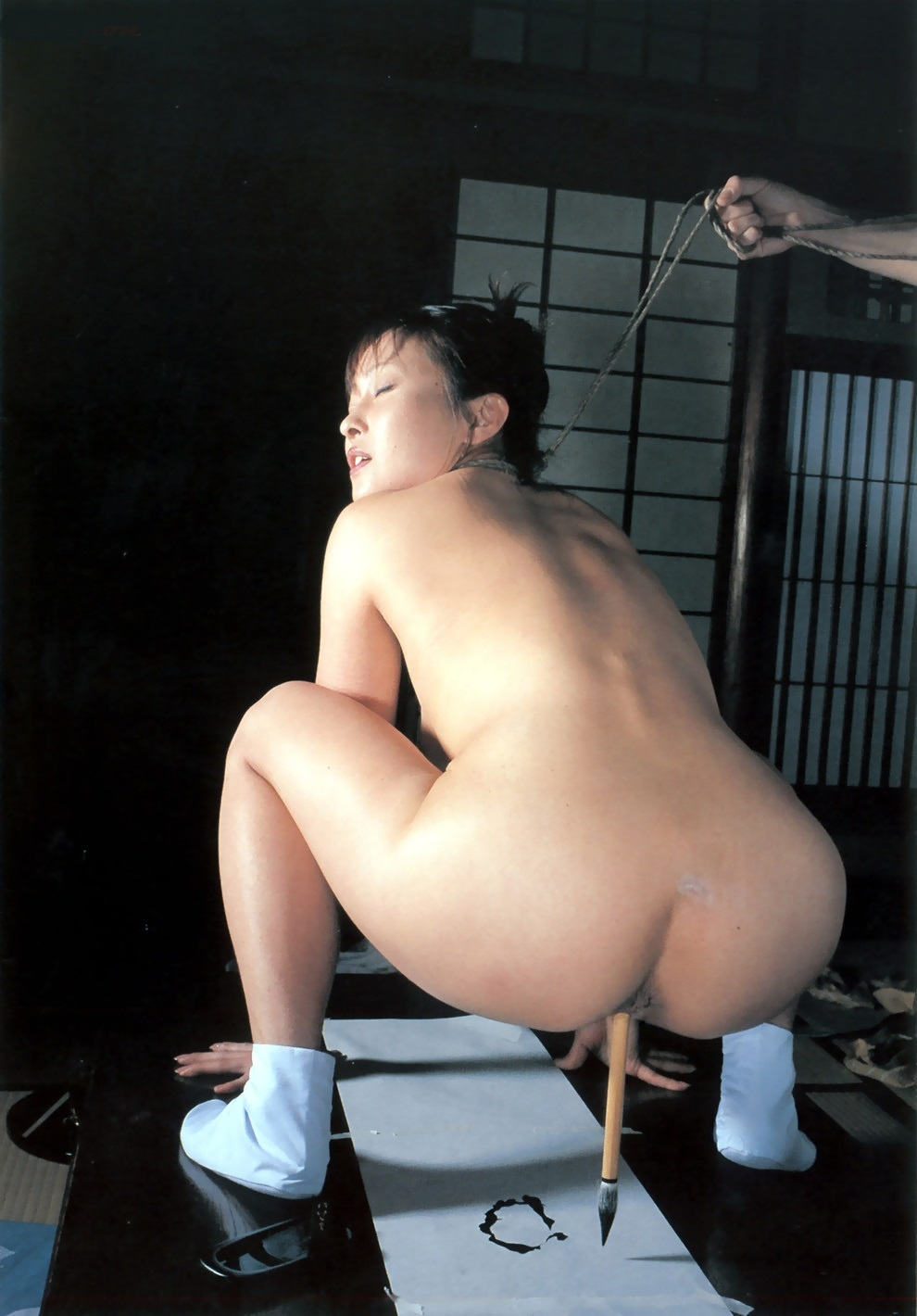 Japanese electro bdsm and extreme asian bondage of punished oriental slaves