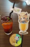 「ルンファ4のコラボカフェに行ったよ!」の画像