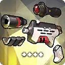 MG80用改造キット(T-10 ニンフ)
