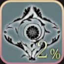 ウォール・タトゥー+2%