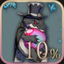 ワニ+10%
