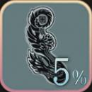 ヘルス・タトゥー+5%