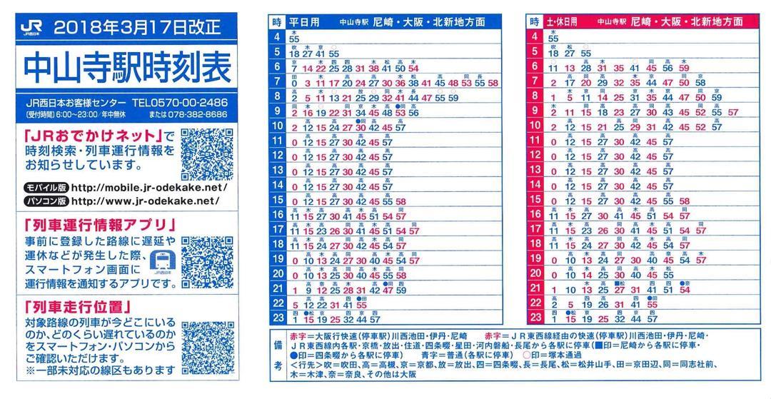 高田駅時刻表