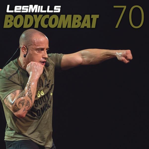 BODYCOMBAT - LESMILLS TRACK LIST